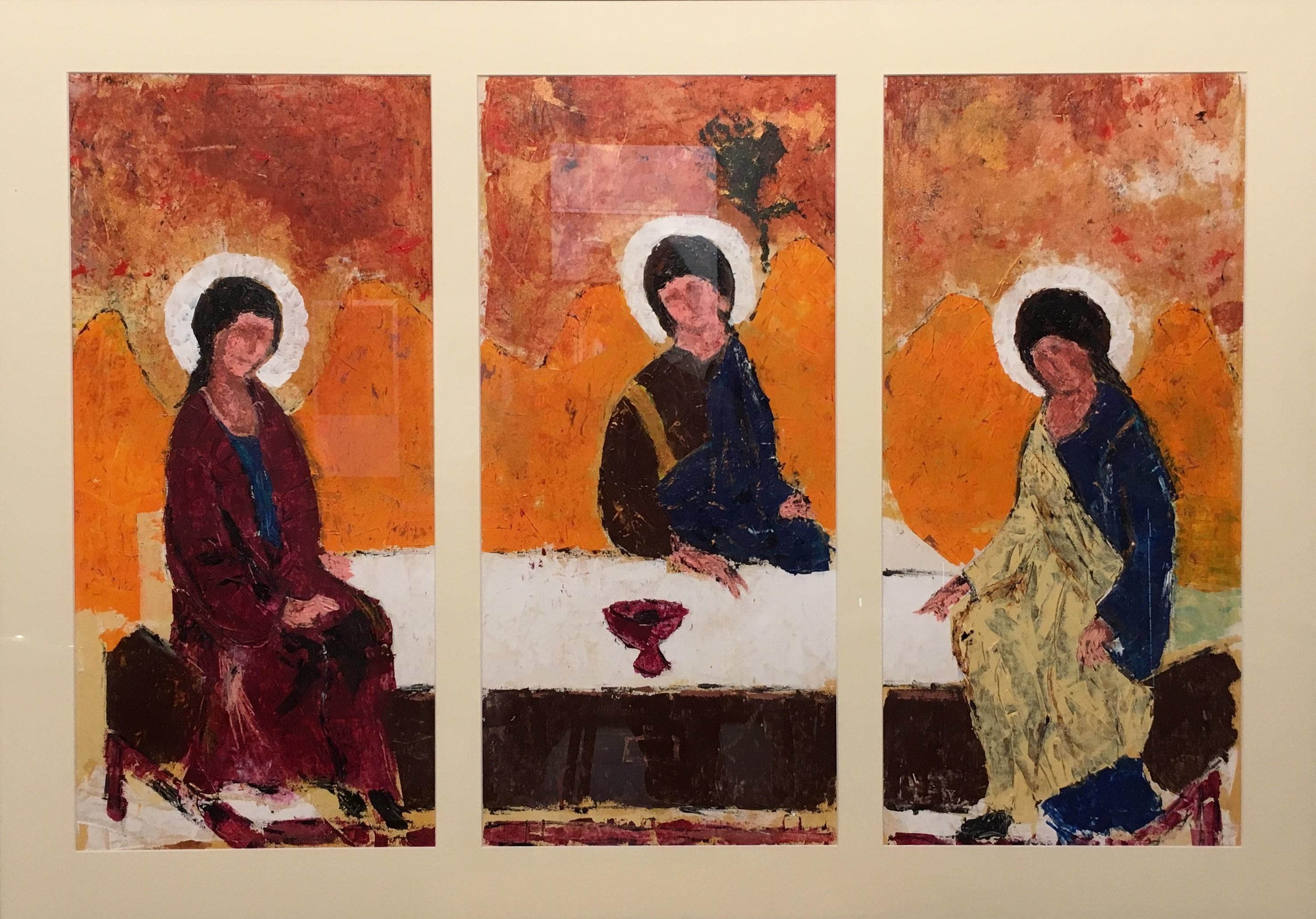 N° 1591 - Phyloxénie - Acrylique sur toile - Triptyque 3 (64 X 31 cm) - 2 octobre 2014