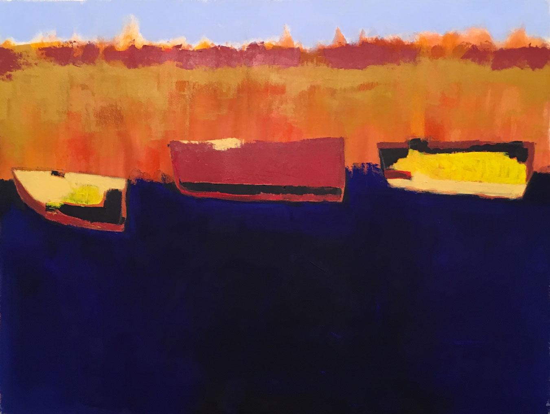 N°3391 - Acrylique et pigments sur toile - 86 x 116 cm - 23 juillet 2017