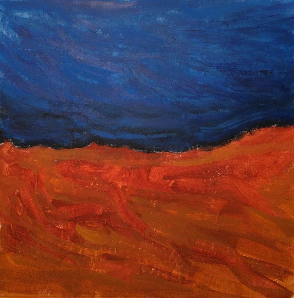 N°2185 - Acrylique sur toile - 120 x 120 cm - 4 mars 2016