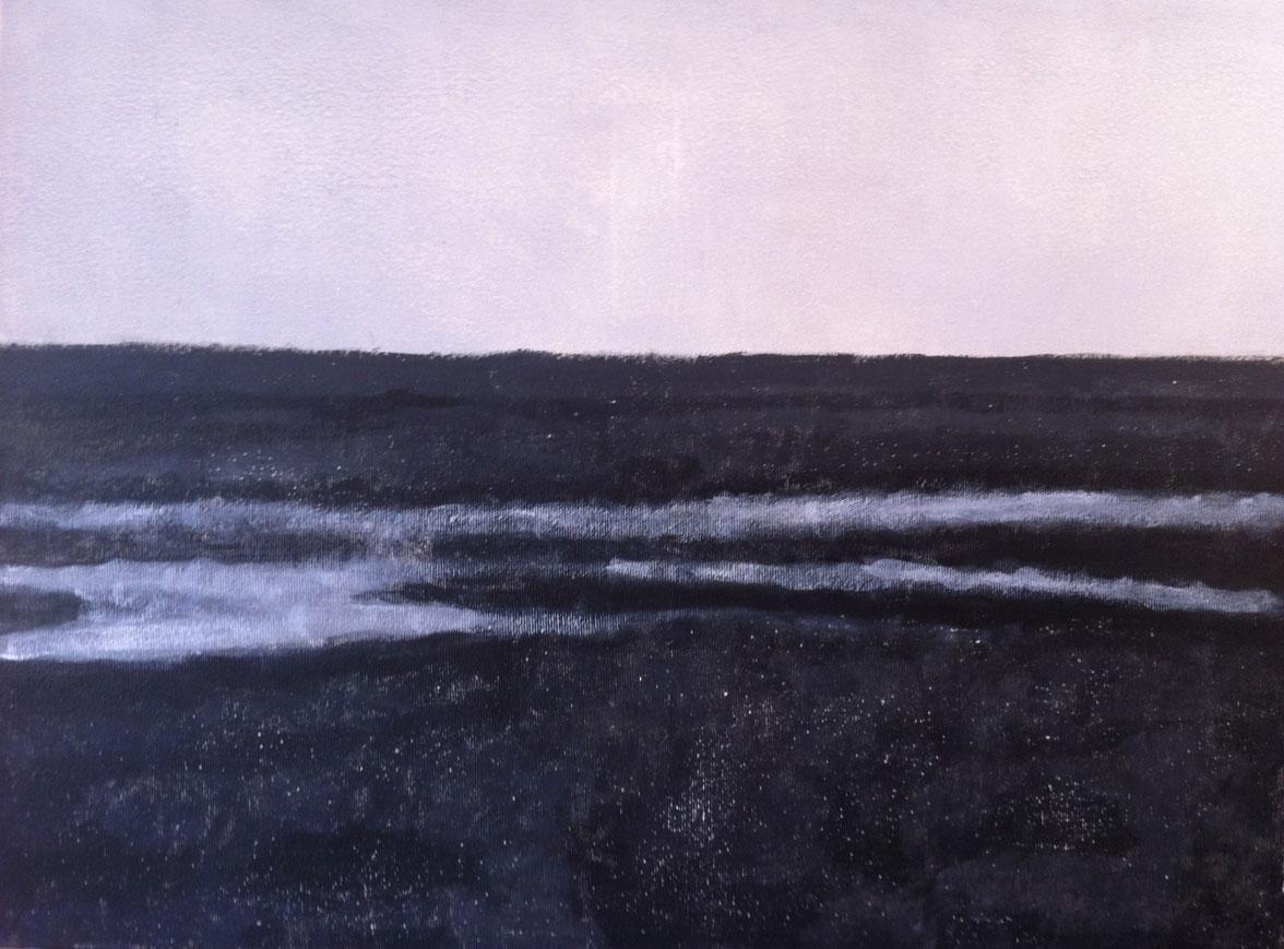 N°430 - Terrain vague - Acrylique sur toile - 60 x 81 cm - 5 mai 2013