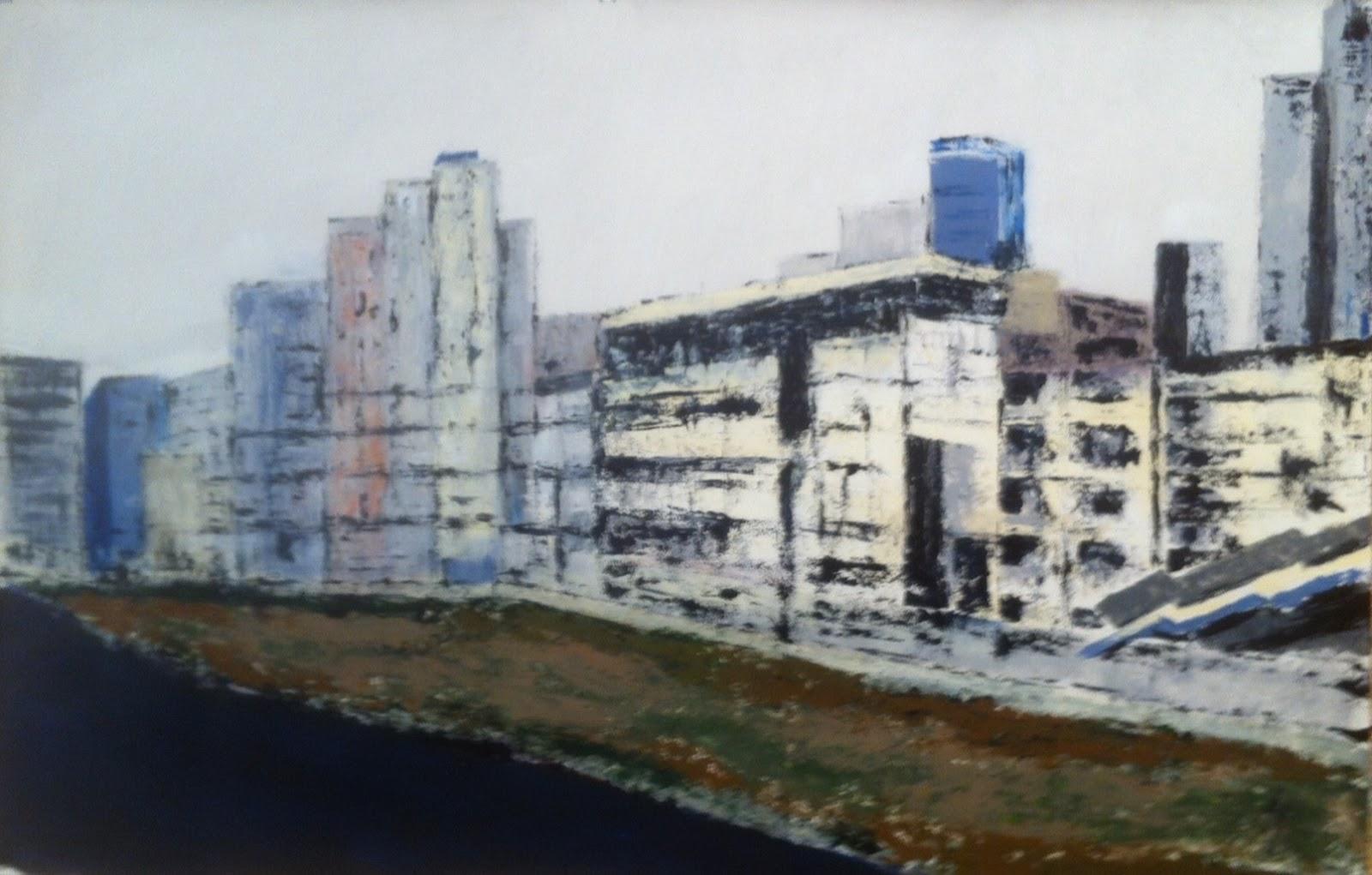 N°1726 - ZUP - Acrylique sur papier - 65 x 101 cm - 6 décembre 2014